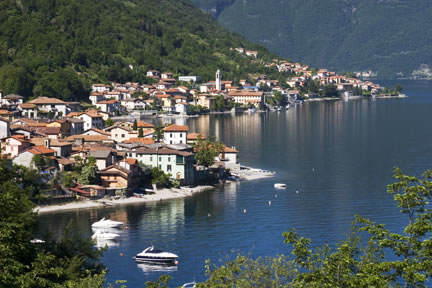 Ancient hamlets of Lezzeno, the Como lake.
