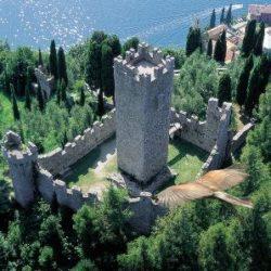 Il castello di Vezio fu l'ultima dimora della regina dei Longobardi Teodolinda.