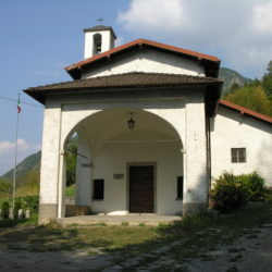 Madonna dei Ceppi church in Lezzeno