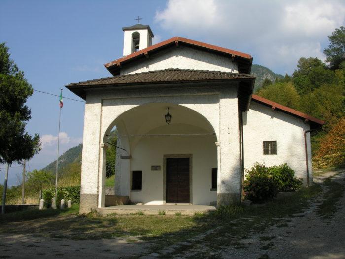 Madonna dei Ceppi church in Lezzeno